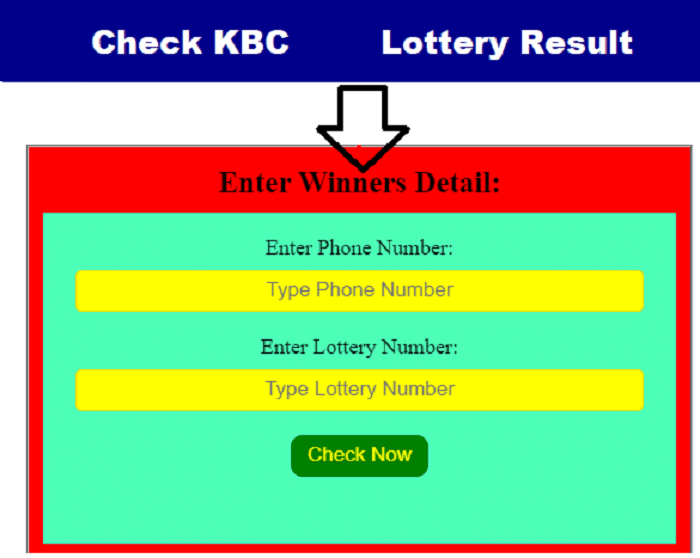 KBC Lottery Number - How To Find A Winner By Using A KBC Lottery Number?