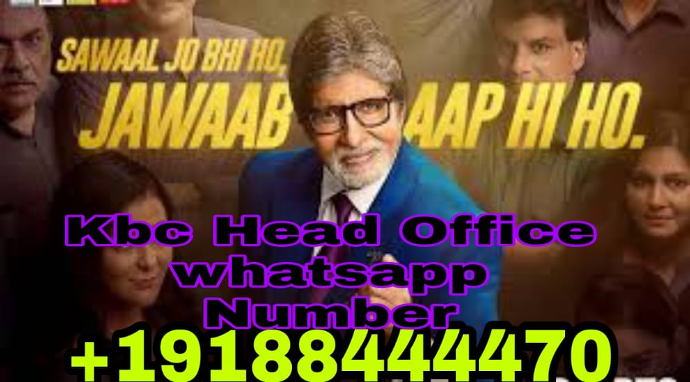 KBC Customer care Number India